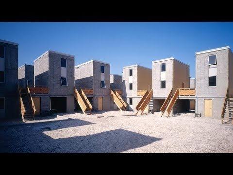 Alejandro Aravena explains his approach to social housing